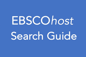 EBSCO Host Search Guide